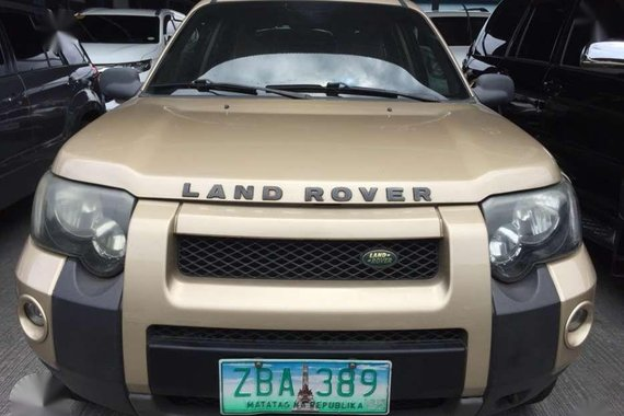 2005 Land Rover Freelander 2.5L gas 4x4 automatic FOR SALE