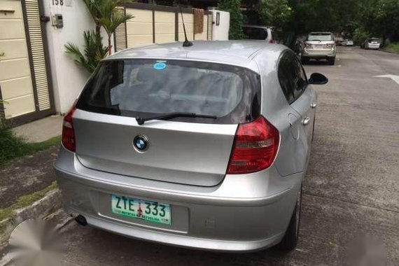 2008 BMW 118i Gas AT first owner for sale fully loaded