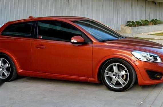 For sale volvo c30 sports coupe orange