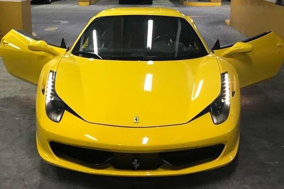 Well-maintained Ferrari 458 2011 for sale