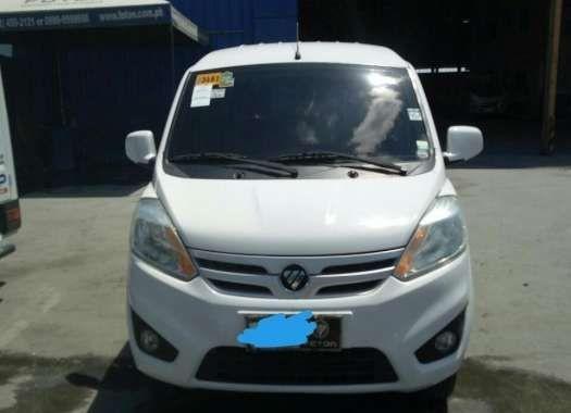 2016 Foton Gratour Mini Van White For Sale