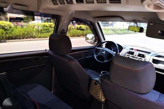 Mitsubishi Adventure glx 2015 manual 4x2 diesel
