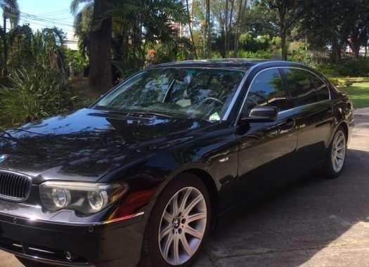 BMW 745 Li Black for sale