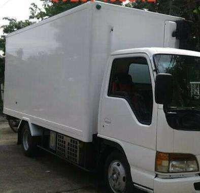 Isuzu Elf Giga Freezer Van 4HG1 engine