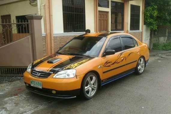 Honda Civic Vti Vtec 2001 Yellow For Sale