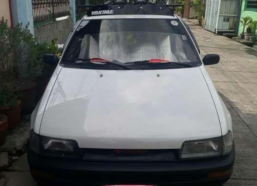 1997 Daihatsu Charade Manual White For Sale