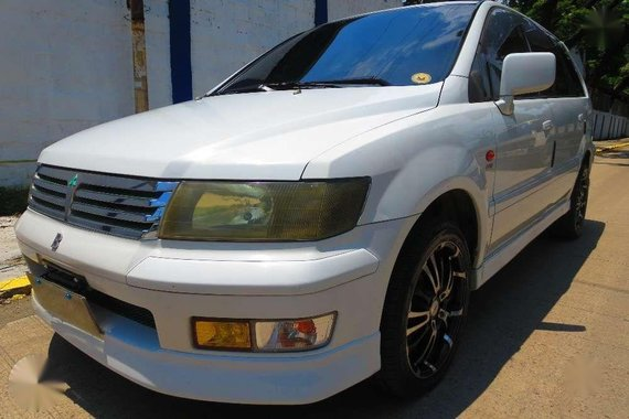 Mitsubishi Grandis 1998 AT White For Sale
