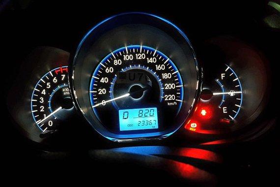 Toyota Vios E . Matic Brown Sedan For Sale