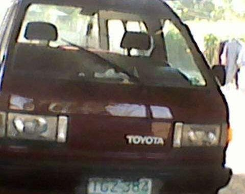 Toyota Lite Ace Manual Red Van For Sale