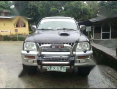 mitsubishi strada endeavor manual 4WD