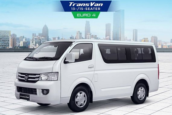 2018 Foton View Transvan 13&15 seaters For Sale