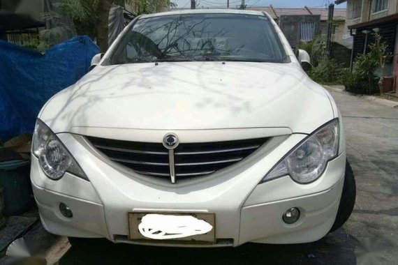 Ssangyong Actyon 2008 White For Sale