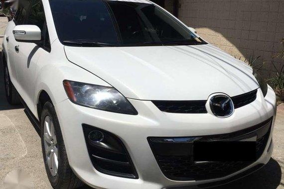 2012 Mazda CX-7 pearl white