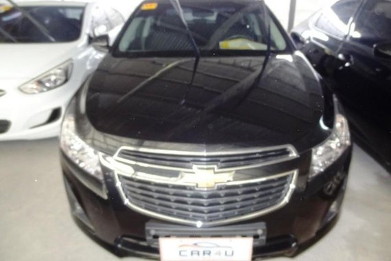 Chevrolet Cruze 2015 Gasoline Manual Black