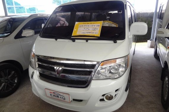 Almost brand new Foton View Diesel 2014