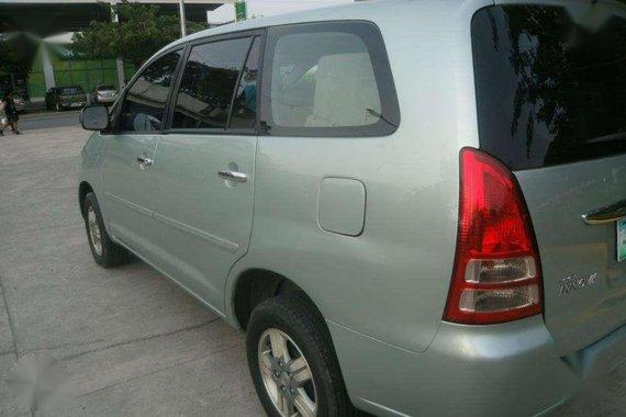 2006 Toyota Innova G -Gasoline -Manual Transmission