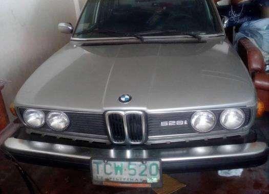 BMW 528i 1979 vintage FOR SALE