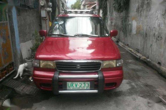 Mazda Mpv 1997 manual diesel engine sale or swap