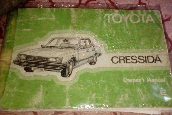 Toyota Cressida 1983 21r Engine 5speed Manual
