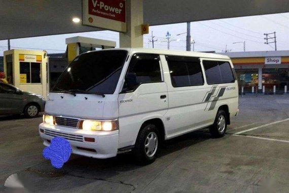 Nissan Urvan Escapade 2002 for sale