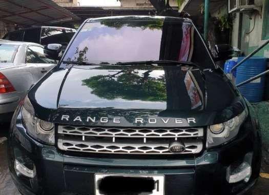 2013 LAND ROVER Range Rover Evoque Prestige Top of The Line Diesel