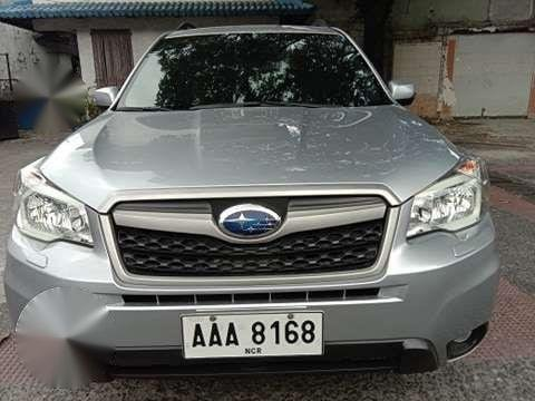 Subaru Forester 2014 Model Automatic Transmission