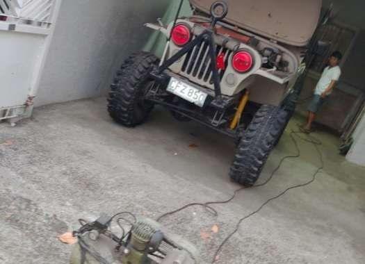 Jeep cj5 Willys Kennedy 4x4 trailer for sale