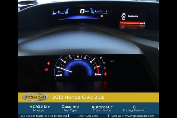 2012 Honda Civic 2.0S AT for sale