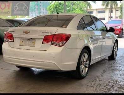2014 Chevrolet Cruze LT automatic premium white