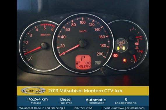 2013 Mitsubishi Montero Sport GTV for sale