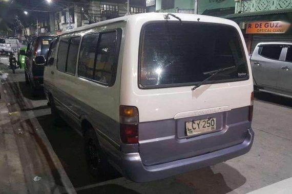 Toyota Hiace 1997 Diesel 2.4L