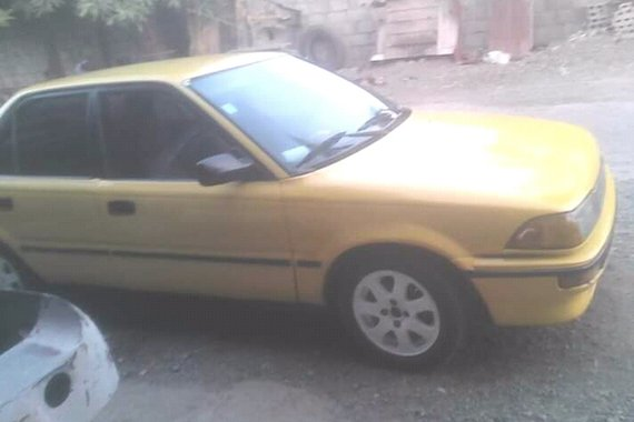For sale and open for swap 1991 TOYOTA COROLLA