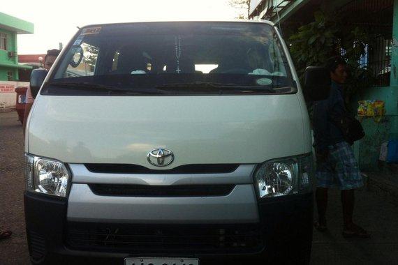 Toyota Hiace van 2014 model for sale
