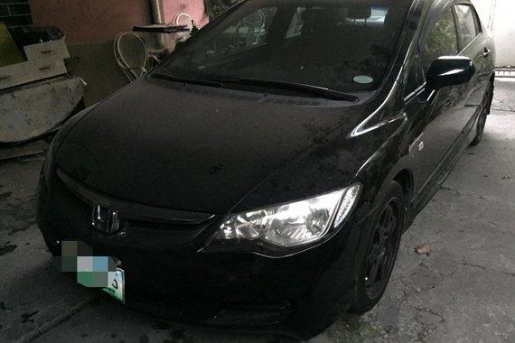 Honda Civic Black FD 1.8S 2007 for sale