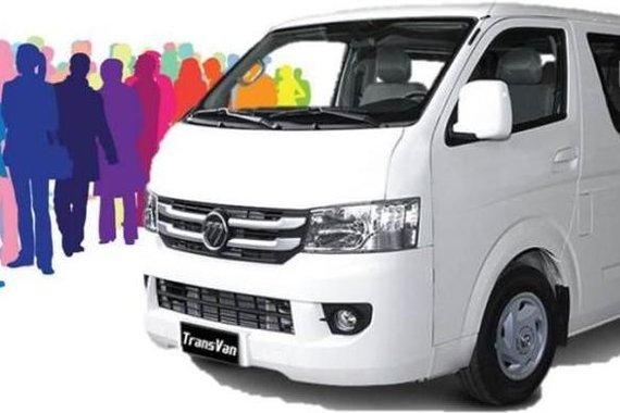2019 Foton View Transvan for sale