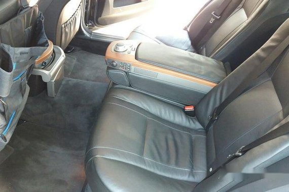 Selling Black 2007 Bmw 730Li at Automatic Gasoline at 39000 km in Muntinlupa