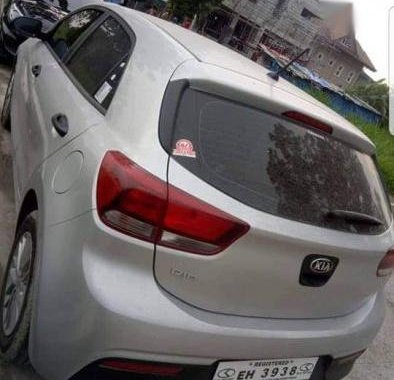 Sell 2nd Hand 2017 Kia Rio Manual Gasoline at 4000 km in Bacoor