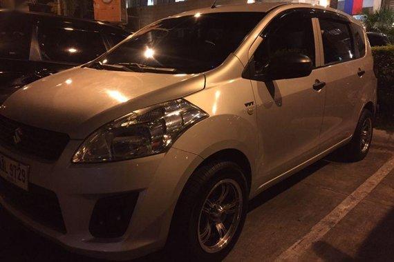 Selling Suzuki Ertiga 2016 Manual Gasoline in Nabua