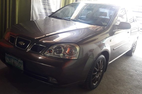 2nd Hand Brown Chevrolet Optra 2005 for sale in Manila