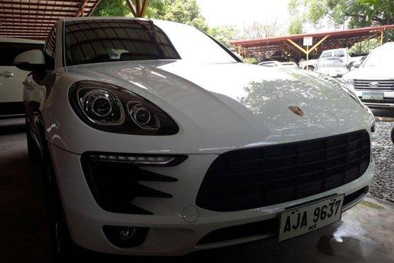 Selling Porsche Macan 2017 Automatic Gasoline in Quezon City