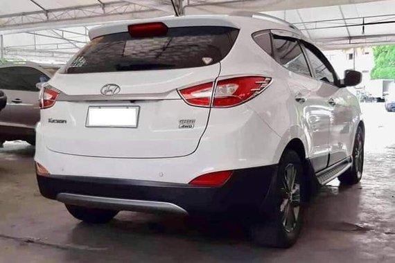 White 2015 Hyundai Tucson Automatic Diesel for sale