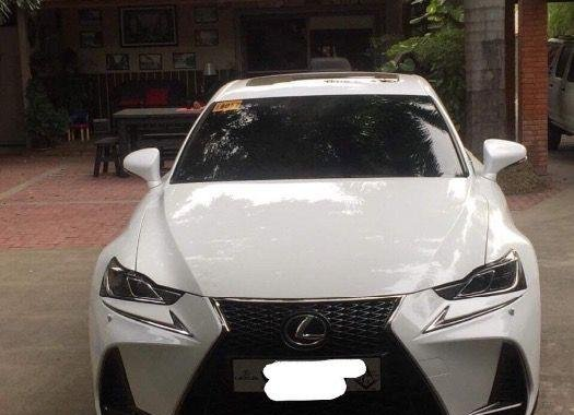 2nd Hand Lexus Is 2017 Automatic Gasoline for sale in San Jose