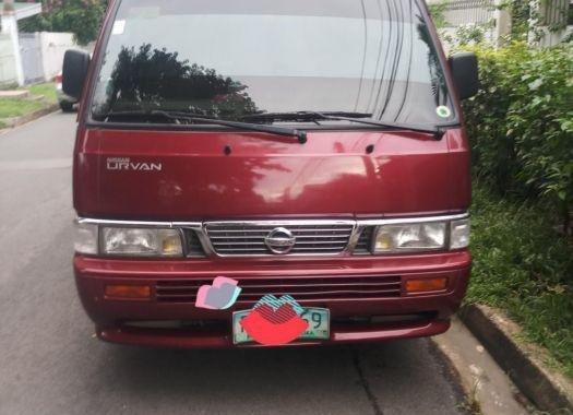 Selling Nissan Urvan 2010 Manual Diesel in Quezon City