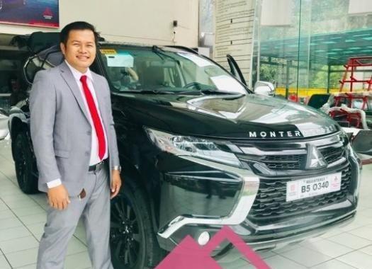 Black Mitsubishi Montero 2019 for sale in Caloocan