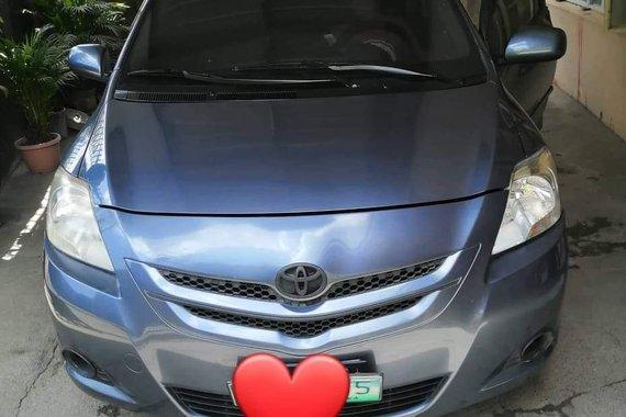 Selling Blue Toyota Vios 2007 Manual Gasoline