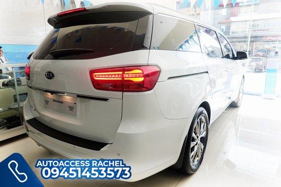 White Facelifted Kia Carnival Platinum G6 Prestige 2020 for sale in Quezon City