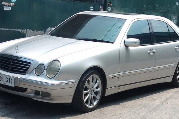 2001 Mercedes-Benz 200 for sale in Metro Manila