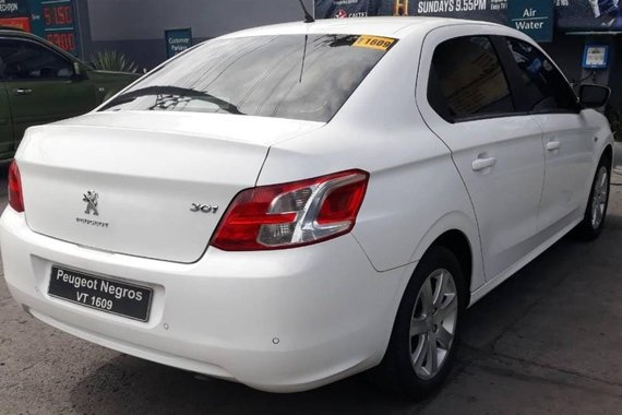 White Peugeot 301 2016 for sale in Paranaque