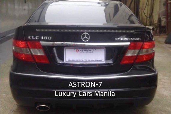 2011 Mercedes-Benz Clc 180 for sale in Quezon City