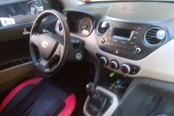 Black Hyundai Grand I10 2014 Hatchback for sale in Taguig